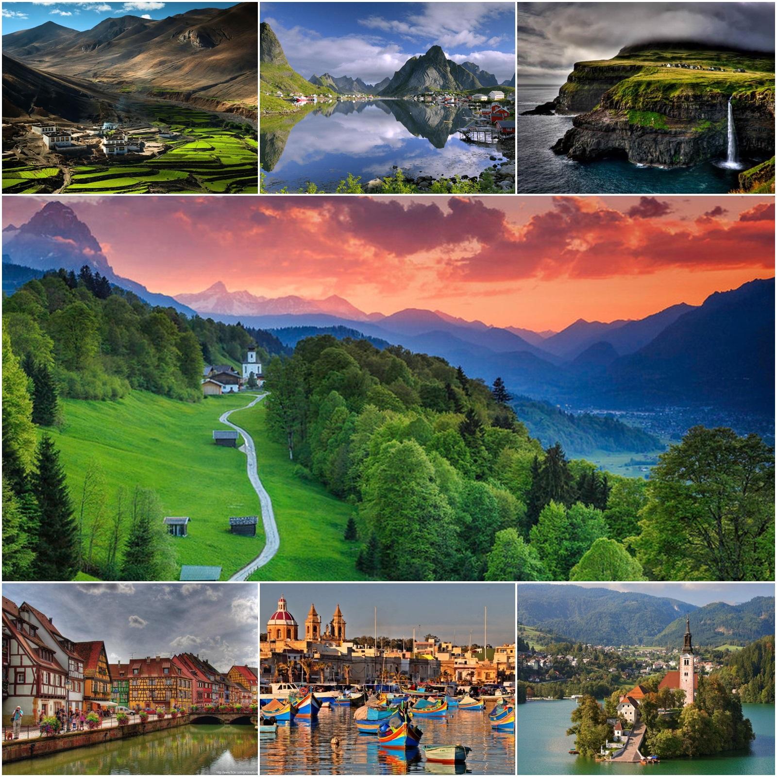Najljepša mala mjesta na svijetu - Znanost Blog